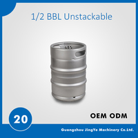 US 1/2 Barrel beer keg.